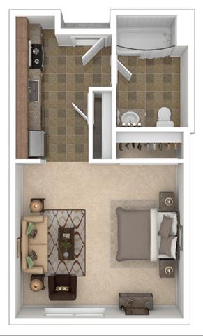 Tenth Studio Floor Plan
