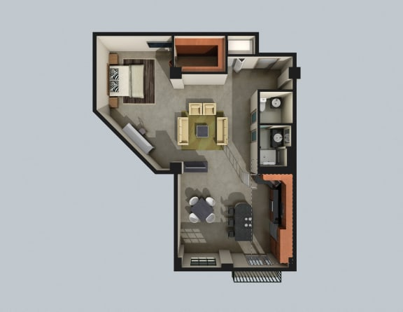 Floor Plan  Echo Valley