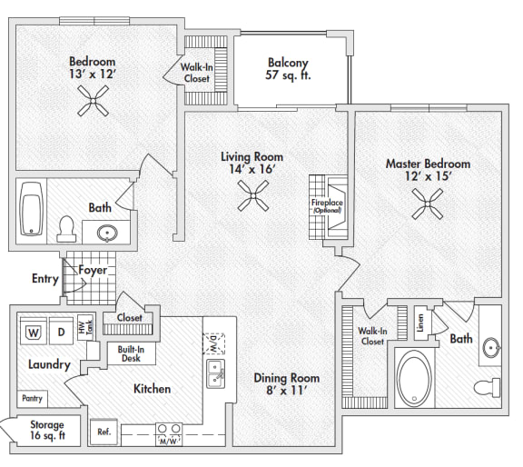 two bedroom apartments in frisco