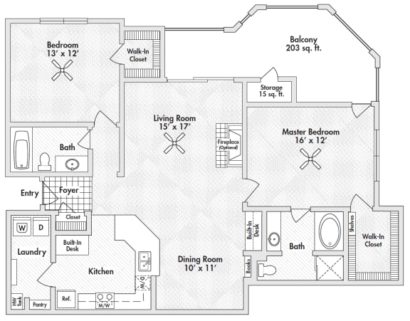 two bedroom apartments by frisco