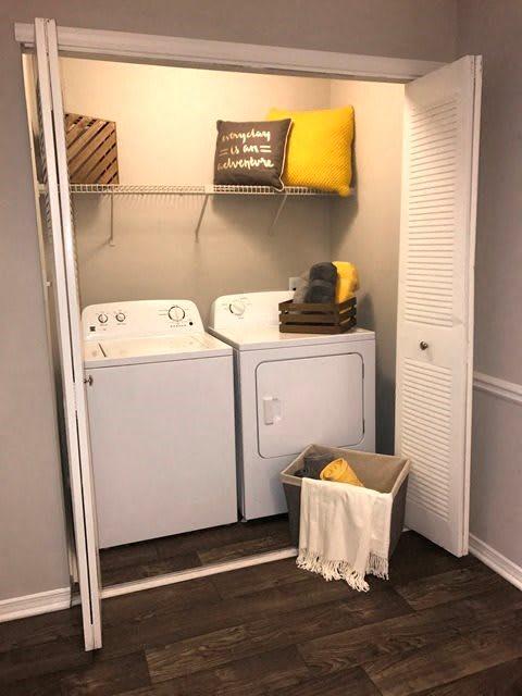 Model laundry area