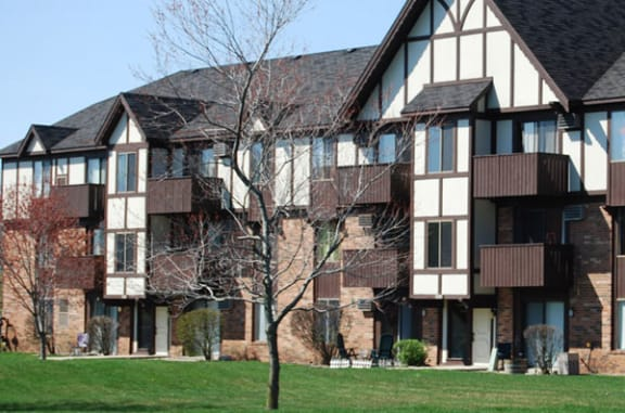 Private Balcony or Patio Available at West Wind Apartments in Fort Wayne, Indiana