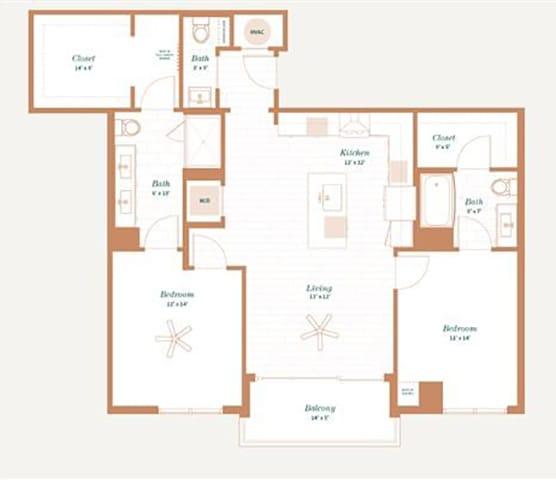 Floor Plan  Myrtle