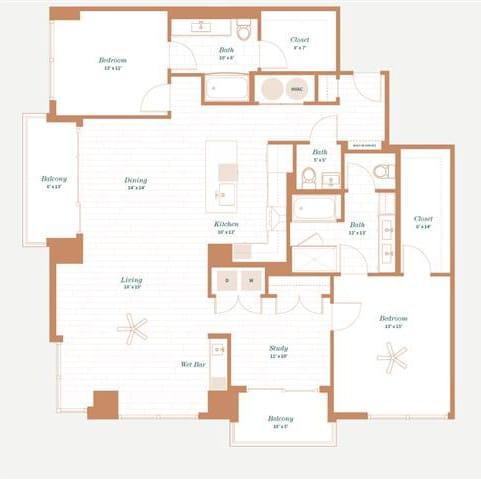 Floor Plan  Wisteria