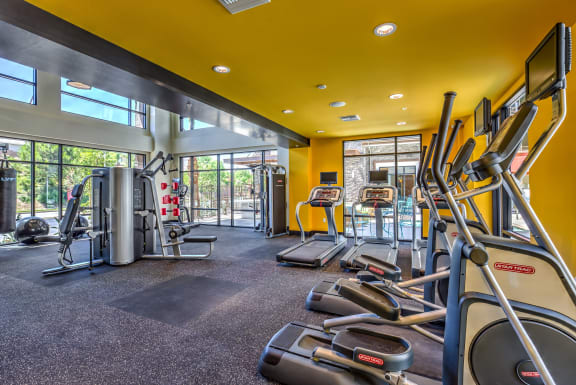 Modern Fitness Center at Metro Gateway, California, 92503