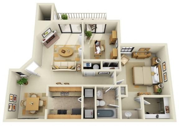 One Bedroom / Den