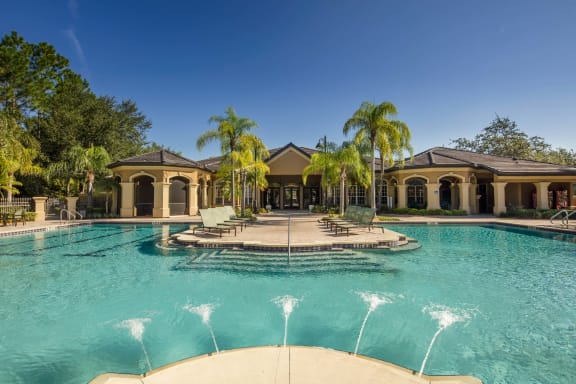 Resort Style Pool Sundeck Reserve at Tampa Palms 33647