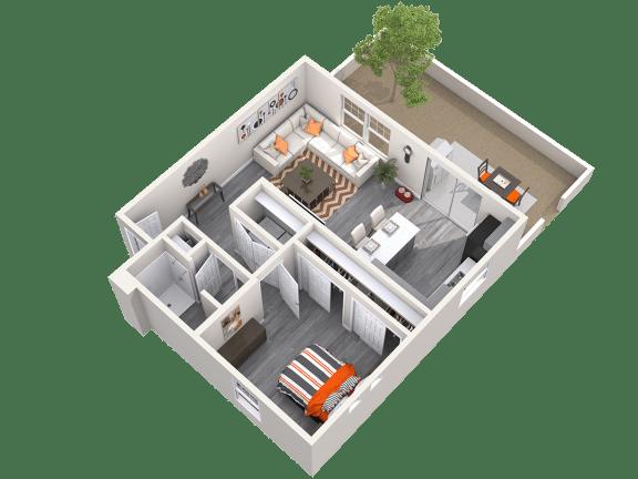 The Alcove Floor Plan at Avilla Prairie Center, Brighton, CO