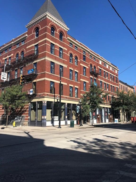 Historic building_Columbia Flats Apartments Cincinnati, OH