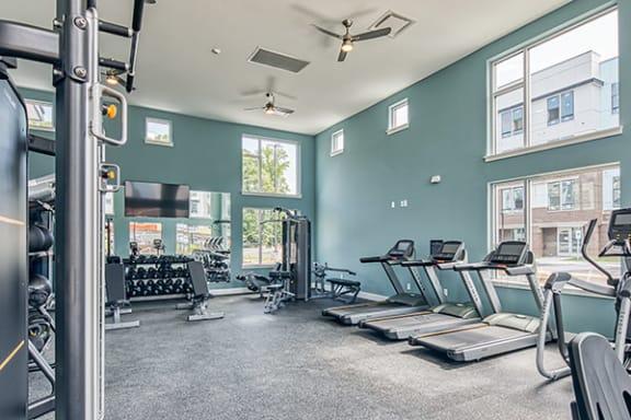 Fitness Center at Lumen