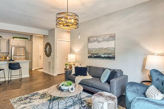 Living room at Lumen