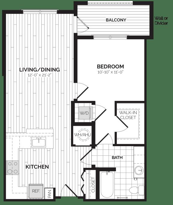 A5 Floor Plan at Rivergate, Woodbridge