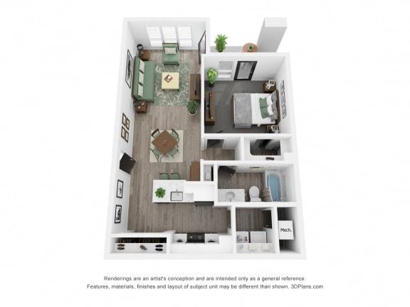 Juniper Front Floor Plan