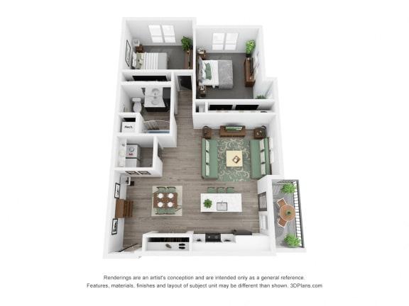 Hickory Floor Plan
