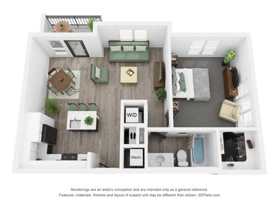 Oak Floor Plan
