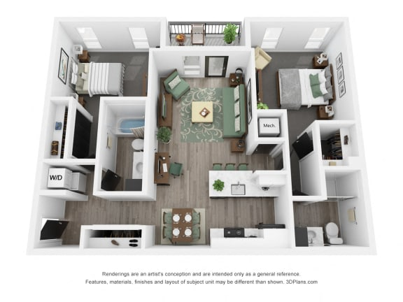 Sycamore Front Floor Plan