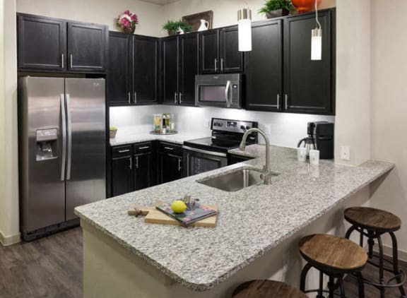 kitchen energy corridor apartments