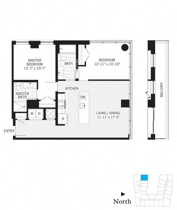 Floor Plan  Pascal b02