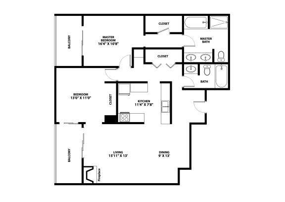 Belleview Floor Plan