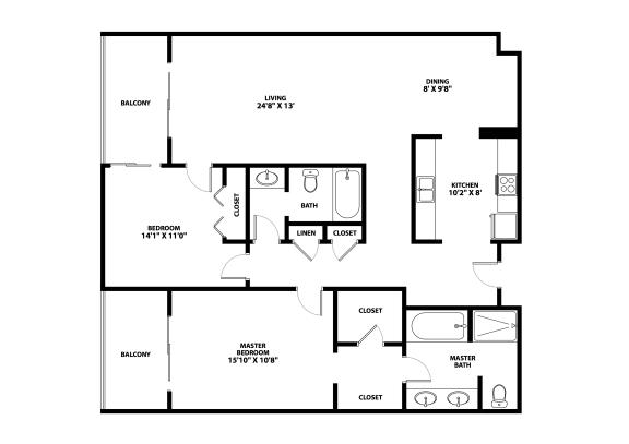 Southmore Floor Plan