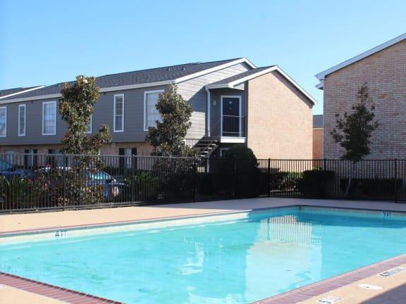 Front Pool View at The Alara, Houston, TX, 77060