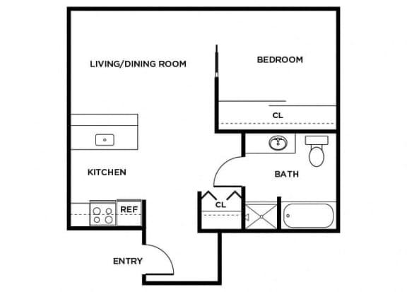 Floor Plan  A7 floor plan
