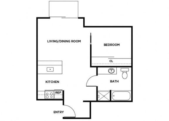 Floor Plan  A8 floor plan
