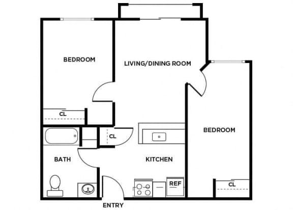 Floor Plan  B3 floor plan