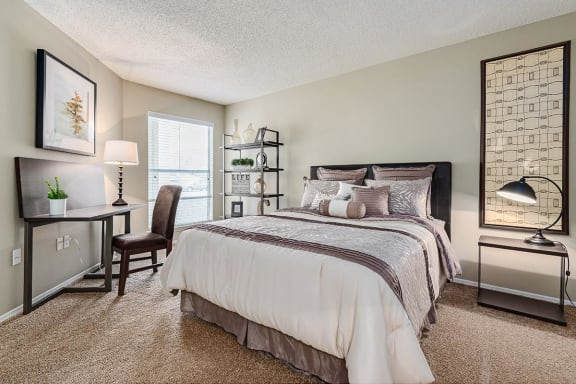 Well Appointed Bedroom at Altitude at Blue Ash, Blue Ash, Ohio