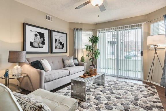 Spacious Living Room at Altitude at Blue Ash, Ohio, 45242