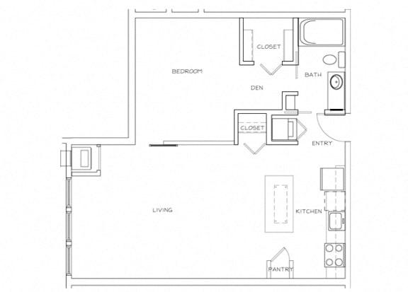 Eitel Apartments A19 1 bedroom