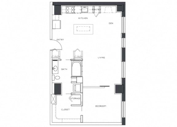 Eitel Apartments A22 1 bedroom