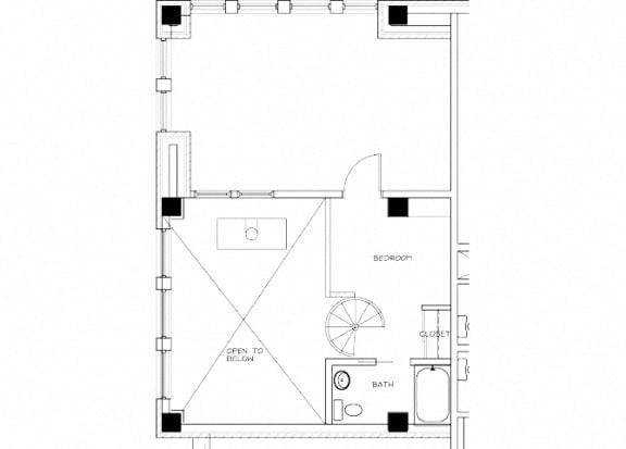 Eitel Apartments B11 2 bedroom floor plan