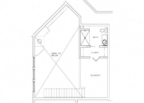 Eitel Apartments B9 2 bedroom floor plan