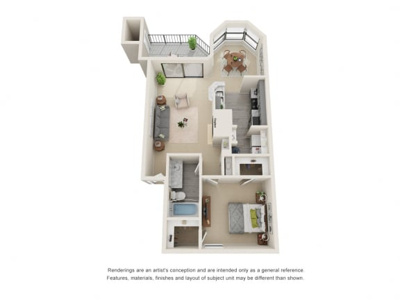 A4_Floor plan in apartments near houston tx