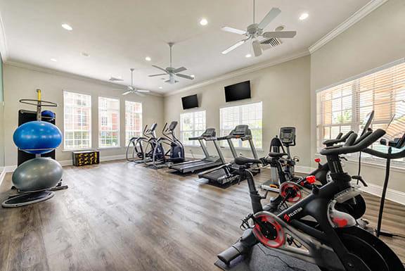 Cardio Machines In Gym at Sierra Grande Apartments, Naples, FL, 34113