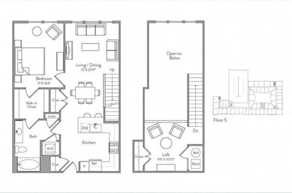 Floor Plan  A1-ML