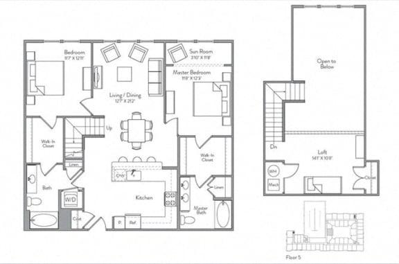 Floor Plan  B1-ML