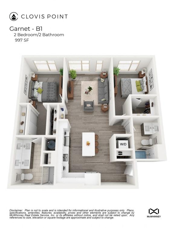 Floor Plan  Garnet Floor Plan at Clovis Point, Longmont, Colorado