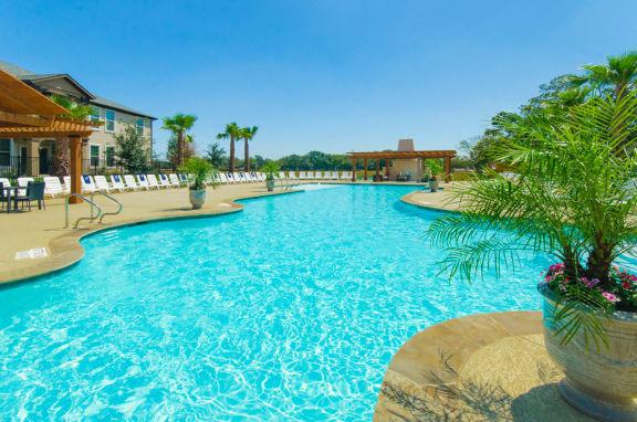 Glimmering Pool at Mansions Lakeway, Lakeway, Texas