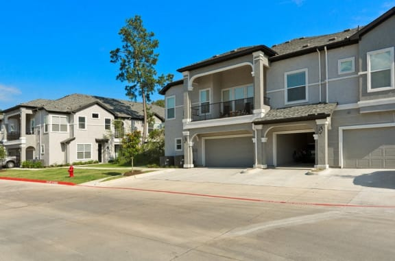 Attached Garages with Private Driveways at Mansions Woodland, Conroe, TX, 77384