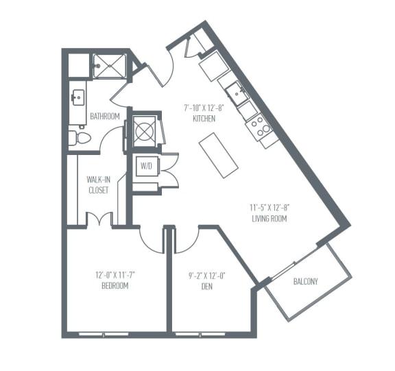 Floor Plan  C5 Floor Plan at Union Berkley, Kansas City, Missouri