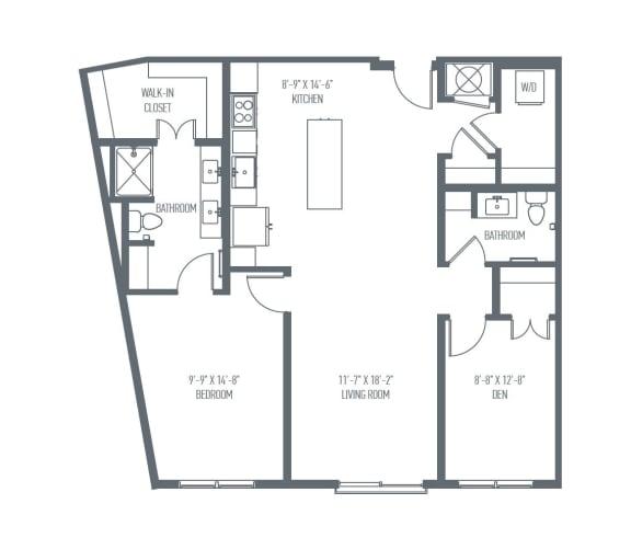C7 Floor Plan at Union Berkley, Missouri