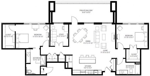 georgetown active 55+ 2 bedroom apartments for rent