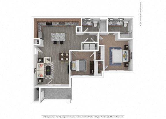 Two bedroom Two bathroom at Edgewater at the Cove, Oregon City, 97045