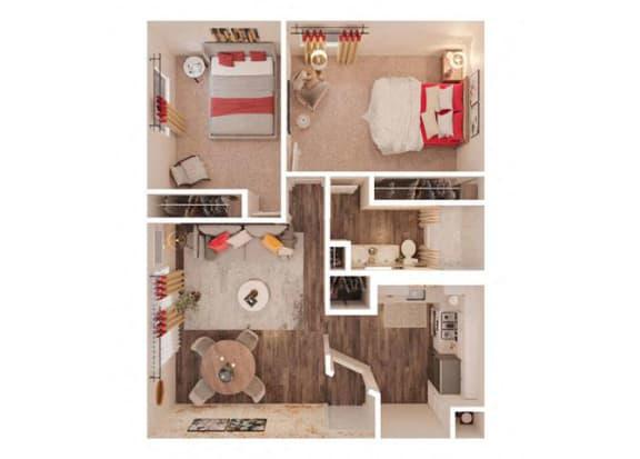 ParkView Lolumbus floor Plan