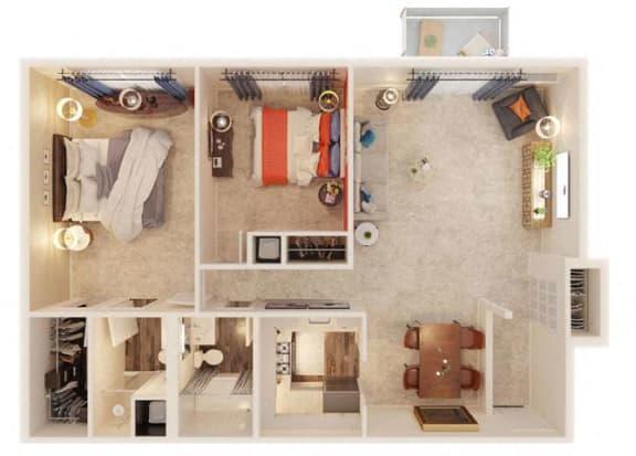 Dearborn Floor Plan