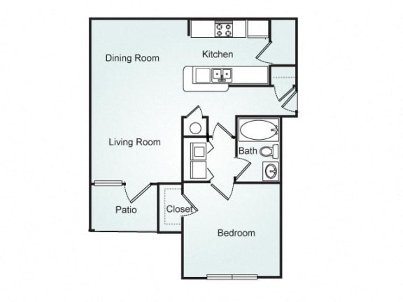 Avery FloorPlan at Southpoint Crossing, Durham, NC