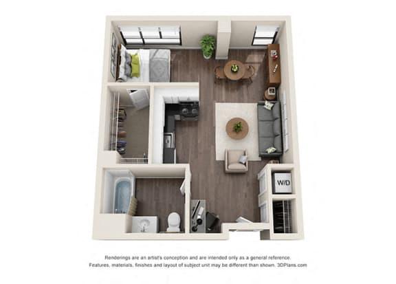 Floor Plan  Studio 1