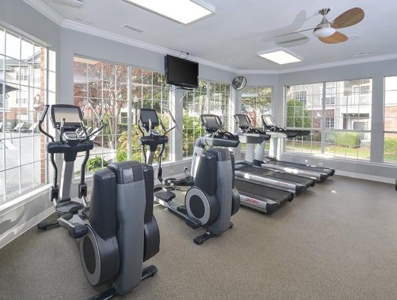 Cardio Studio Equipment at Addison Park, Charlotte, 28269